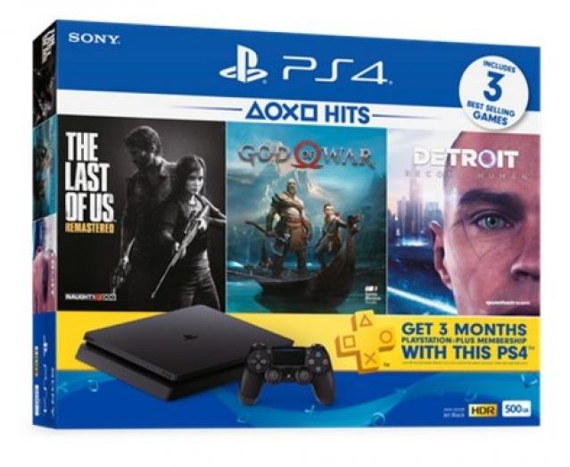 Playstation 4 Slim 1tb Hits Bundle Malaysia Set