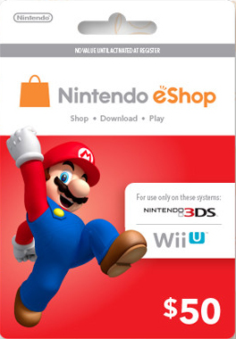 Usd50 eshop prepaid card digital nintendo eshop digital codes