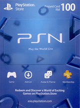 PlayStation Network Card RM100 (Digital)